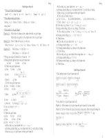 Tài liệu Bài tập giới hạn dãy số doc