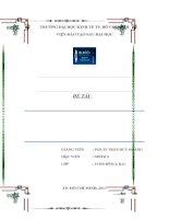 Thực trạng m&a các tổ chức tín dụng ngân hàng tại việt nam