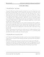 Tài liệu Báo cáo tóm tắt Sơ đồ chia sẻ bí mật dựa trên không gian vectơ Brickell pptx