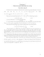Lý thuyết mạch điện và đề bài mạch điện hình sin - Phân tích mạch điện hình sin xác lập