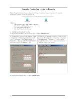 Tài liệu Hướng dẫn-Exchange2007-phần 3-Domain Controller-Join Domain pdf
