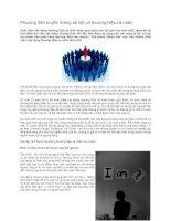 Tài liệu Phương tiện truyền thông xã hội và thương hiệu cá nhân pdf
