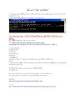 Tài liệu Kết nối CSDL với JDBC docx