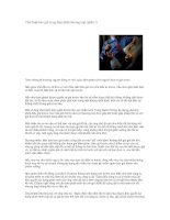 Tài liệu Thủ thuật báo giá trong đàm phán thương mại (phần 1) pdf