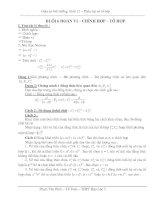 Tài liệu Luyện thi đại học - Phần đại số tổ hợp ppt