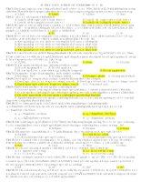 Tài liệu Đề ôn tập luyện thi ĐH năm 2008 - Đề số 18 (Có đáp án) ppt