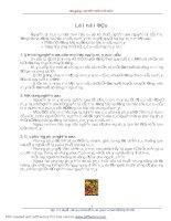 Tài liệu Bài giảng : CƠ SỞ THIẾT KẾ MÁY pptx