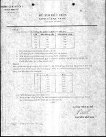 Tài liệu ĐỀ THI KINH TẾ VI MÔ (ĐỀ 2) docx