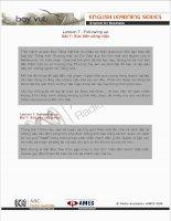 Tài liệu English for Business (Lesson 7)90 docx