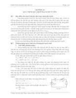 Tài liệu Giáo trình cơ sở kỹ thuật điện II - Chương 18 pptx