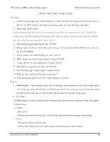 Tài liệu Đề cương Phẫu thuật lồng ngực: Chấn thương ngực kín docx