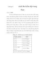 Tài liệu PHƯƠNG PHÁP ĐÁNH GIÁ CHẤT LƯỢNG DỊCH VỤ THOẠI TRONG MẠNG VoIP, chương 9 pdf