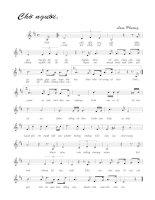 Tài liệu Bài hát chờ người - Lam Phương (lời bài hát có nốt) pptx