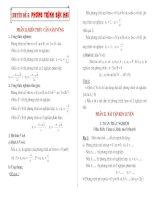 Bài soạn Chuyên đề PT bậc 2 ôn thi vào 10 (hay)