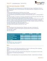 06 tuyen tap de thi dai hoc thuong mai ebook VCU bo de kinh doanh chung khoan