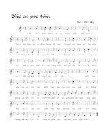 Tài liệu Bài hát bài ca gọi hồn - Phạm Thế Mỹ (lời bài hát có nốt) pptx