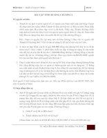 Tài liệu Bài tập tình huống môn Luật - Chương 2 ppt