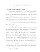 Tài liệu Khái quát về phong trào thơ mới 1932 - 1945 ppt