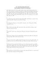 Tài liệu 21 cách bán hàng hiệu quả pptx