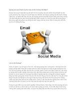 Tài liệu Quảng cáo qua Email có phù hợp với thị trường Việt Nam? docx