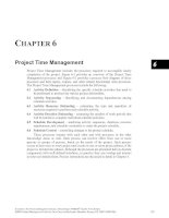 Tài liệu A Guide to the Project Management Body of Knowledge Part 4 ppt
