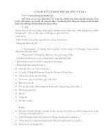 Tài liệu CÁCH XỬ LÝ KHI TRẺ BN SỐT VÀ HO pdf