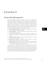 Tài liệu A Guide to the Project Management Body of Knowledge Part 6 pptx