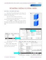 Tài liệu Bài tập vẽ đường thẳng và đường tròn trong Flash 5 pptx