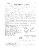 Tài liệu Hợp kim màu và bột ppt