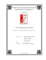 Tài liệu CHIẾN LƯỢC SẢN PHẨM THỊ TRƯỜNG CHO WPC pdf