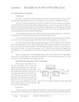 Tài liệu Chương 4: Bộ nguồn AC và điều khiển động cơ AC docx