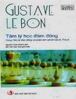 Tài liệu Tâm lý học đám đông - Gustave Le Bon ppt