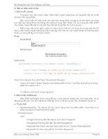 Tài liệu Bài Giảng Môn Lập Trình Website ASP.Net part 6 pdf