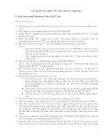 Tài liệu Hồ sơ thiết lập hệ thống VoIP Clarent (Phần VI) doc