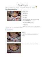 Tài liệu Pizza kì quặc pptx