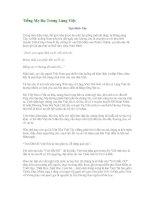 Tài liệu Tiếng Mẹ Ru Trong Làng Việt doc
