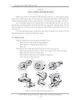 Tài liệu Giáo trình công nghệ chế tạo máy bay chương 1 doc
