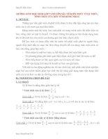 Tài liệu Chuyên đề về tỉ lệ thức, tính chất của dãy tỉ số bằng nhau