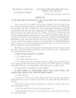 Tài liệu TT22-2004-BGD ( Hướng dẫn về loại hình giáo viên, cán bộ, nhân viên ở các trường phổ thông)