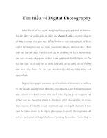 Tài liệu Digital Photography - Phần 1 pptx