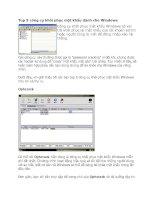 Tài liệu Top 5 công cụ khôi phục mật khẩu dành cho Windows pptx
