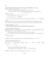 Bài giảng Đề ôn thi TN THPT môn Toán năm 2010 - Đề số 4