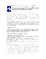 Tài liệu Facts about FASB - Vài nét về Ban các chuẩn mực Kế toán tài chính FASB docx