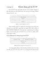 Tài liệu thiết kế hệ thống truyền tải công nghệ số 7 trong NGN, Chương 12 ppt