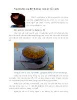 Tài liệu Người đau dạ dày không nên ăn đỗ xanh docx