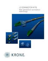 Tài liệu Datasheet - FO - Connector - LC doc