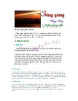 Tài liệu Hướng dẫn phân tích bài thơ Tràng Giang của Huy Cận pptx