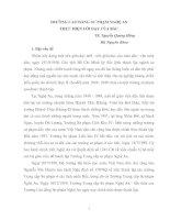 Tài liệu TRƯỜNG CAO ĐẲNG SƯ PHẠM NGHỆ AN THỰC HIỆN LỜI DẠY CỦA BÁC docx