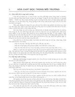Tài liệu Giáo trình hóa học môi trường P5 pdf