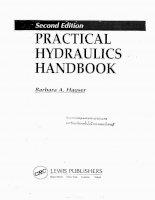 practical hydraulic handbook second edition